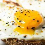 2 Eggs toast Fried